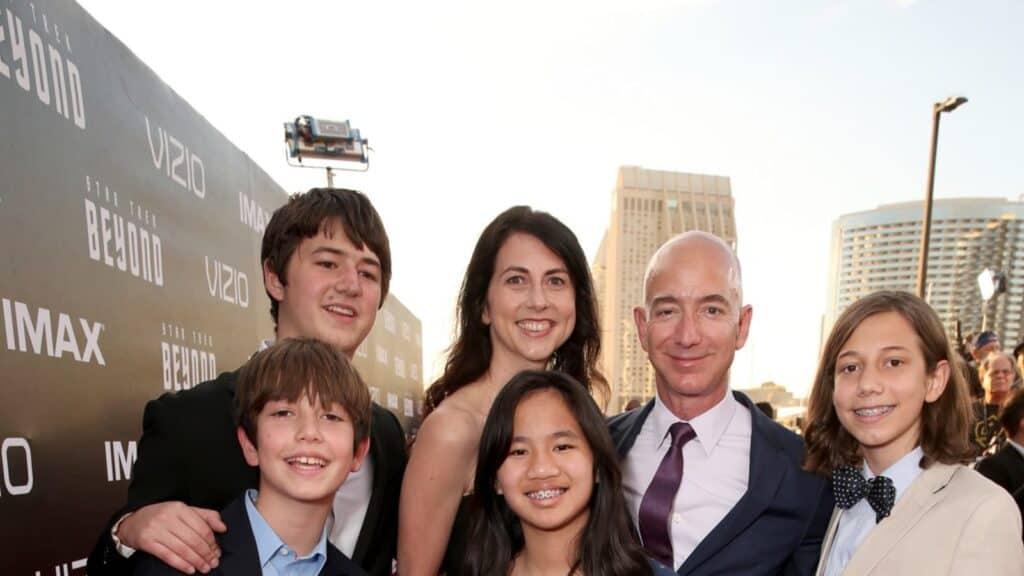Jeff Bezos Family