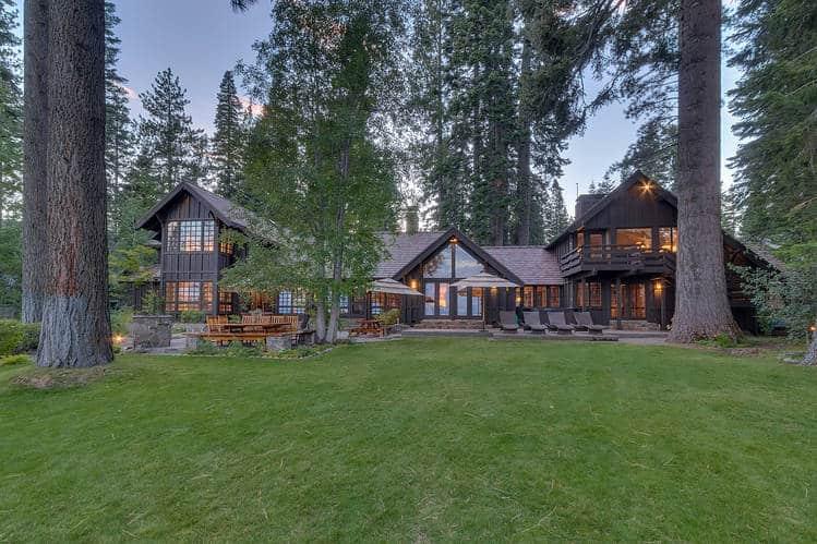 Mansions Adjacent to Lake Tahoe
