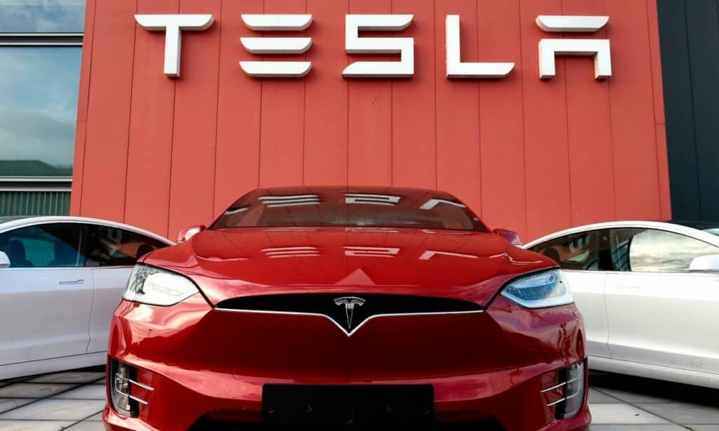 Tesla Car Brand