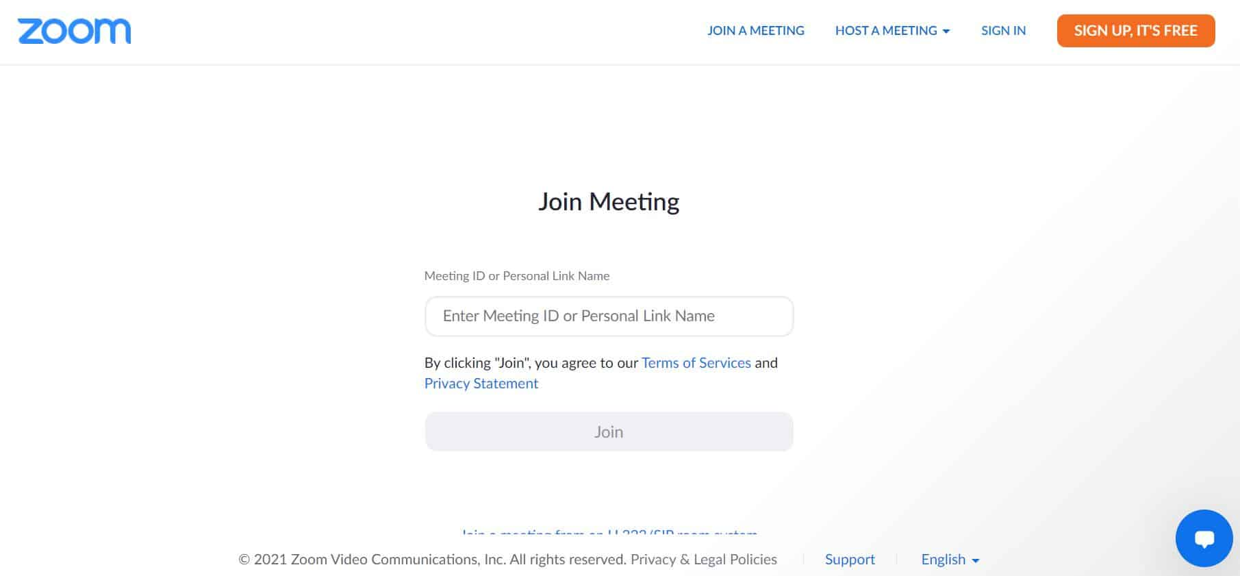Showing readers how they can join a Zoom meeting