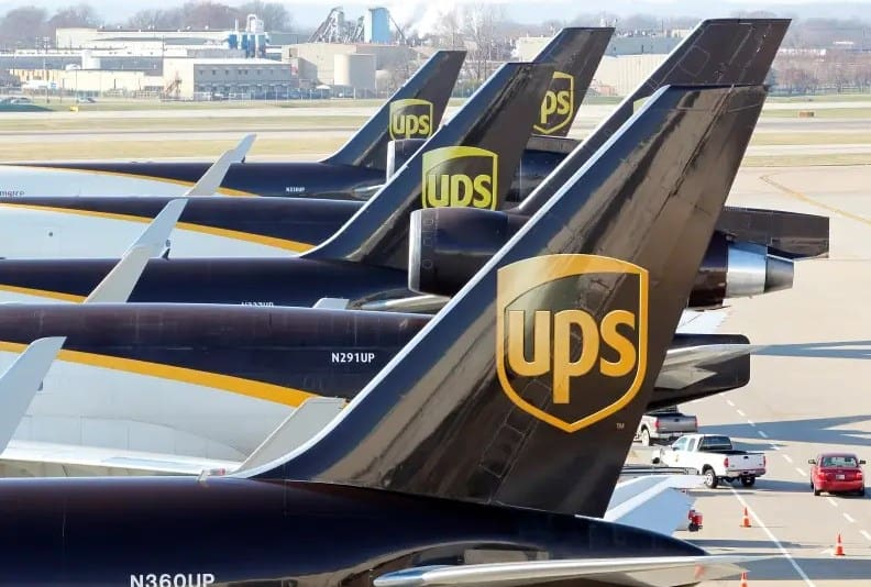 UPS Airplane Delivery